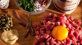 Meat Tartare Wallpaper Full HD