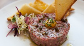 Meat Tartare Wallpaper HQ