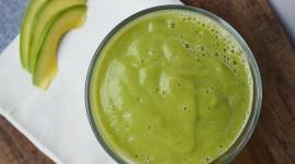 Milkshake With Avocado Wallpaper Download