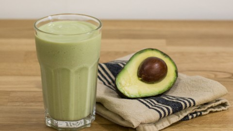 Milkshake With Avocado wallpapers high quality
