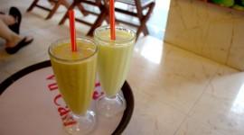 Milkshake With Avocado Wallpaper Free