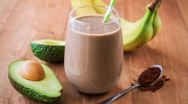 Milkshake With Avocado Wallpaper HQ