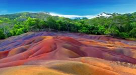 Multi Colored Sands Wallpaper For PC