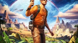 Outcast Second Contact Wallpaper For IPhone