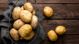 Peeling Potatoes High Quality Wallpaper