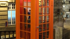 Phone Booth Wallpaper For IPhone Free
