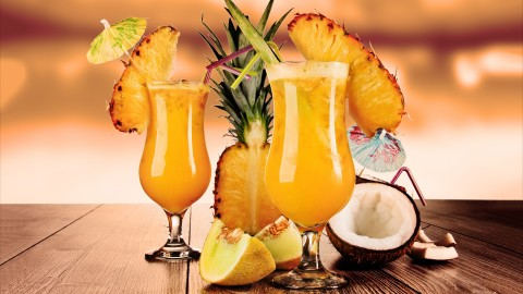 Pineapple Cocktails wallpapers high quality
