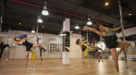 Pole Dance Studio Desktop Wallpaper