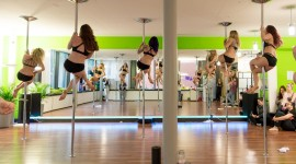 Pole Dance Studio Wallpaper HQ