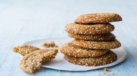 Sesame Biscuits Wallpaper For PC