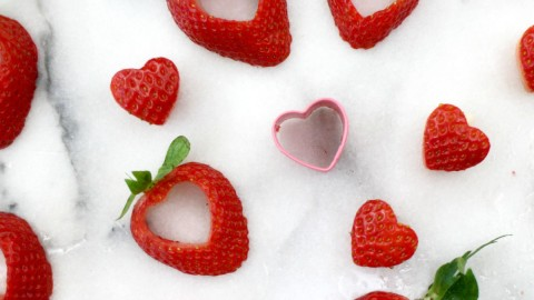 Strawberry Heart wallpapers high quality