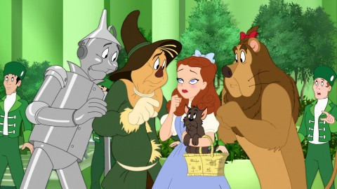 Tom And Jerry The Wizard Of Oz wallpapers high quality