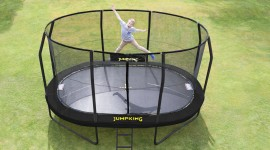 Trampoline Desktop Wallpaper For PC