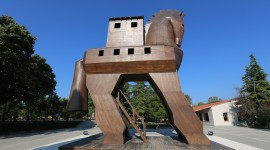 Trojan Horse Desktop Wallpaper HD