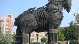 Trojan Horse Wallpaper