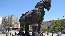 Trojan Horse Wallpaper Background