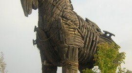 Trojan Horse Wallpaper For IPhone