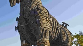Trojan Horse Wallpaper For IPhone Free