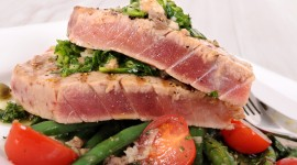 Tuna Fillets Desktop Wallpaper HD