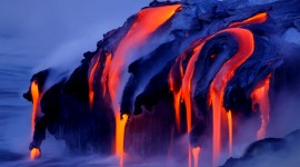 Volcanic Magma High Quality Wallpaper