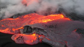 Volcanic Magma Wallpaper Download Free