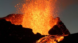 Volcanic Magma Wallpaper For IPhone