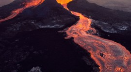 Volcanic Magma Wallpaper For IPhone Free