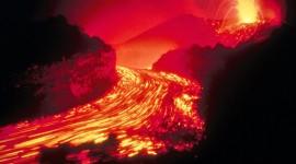 Volcanic Magma Wallpaper Free