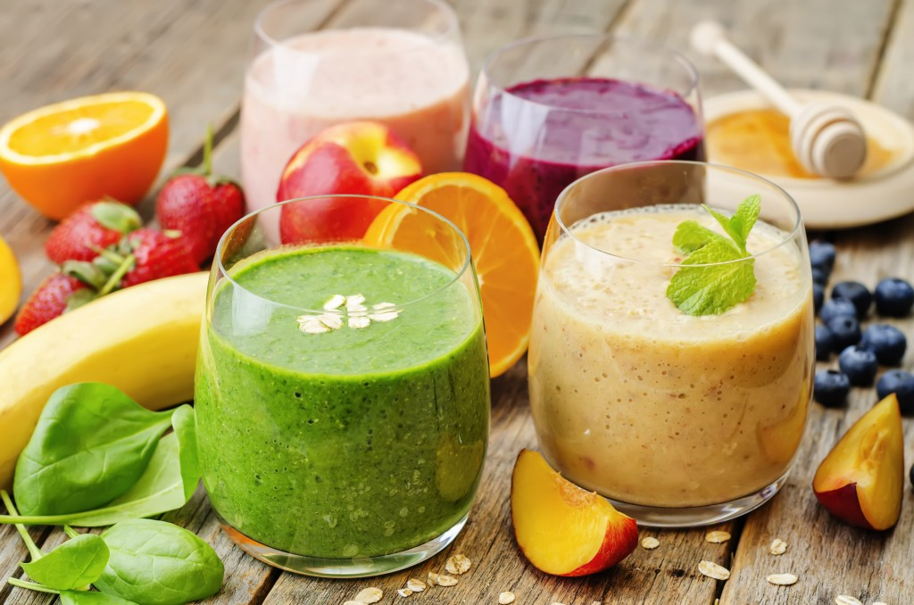 4K Fruit Smoothies wallpapers HD