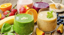 4K Fruit Smoothies Best Wallpaper