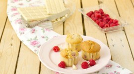 4K Muffins Wallpaper Download