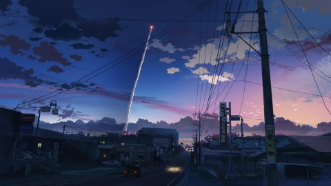 5 Centimeters Per Second wallpapers high quality