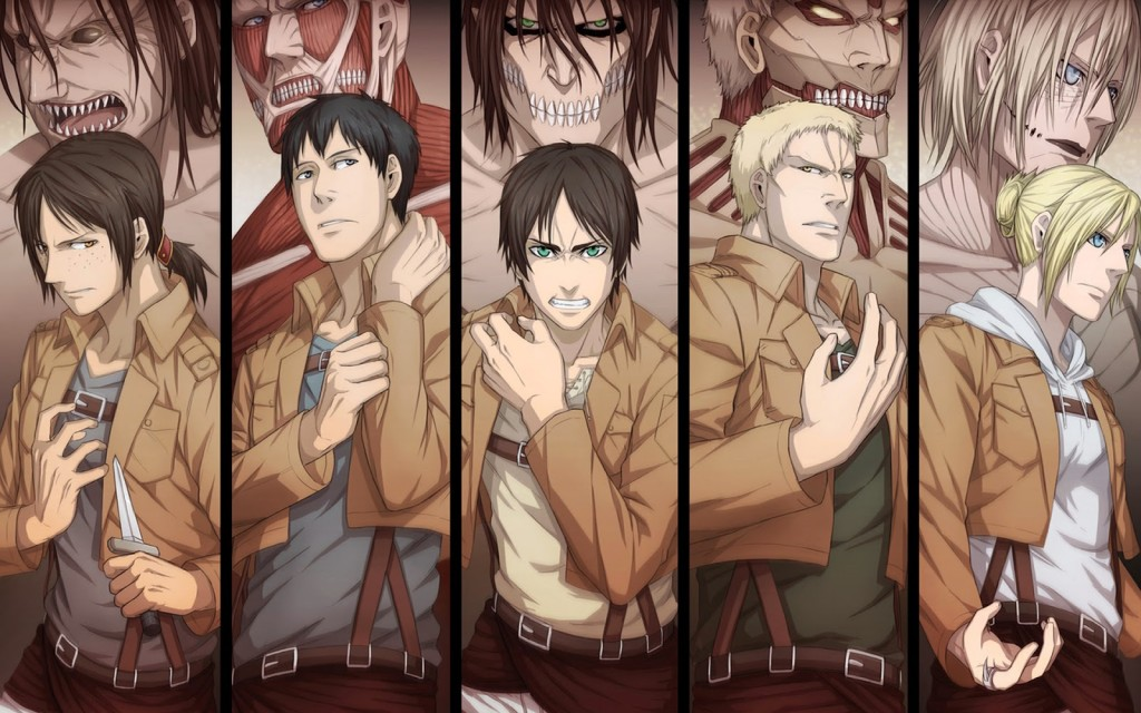 Attack On Titan 3 wallpapers HD