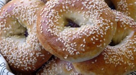 Bagels Wallpaper For IPhone