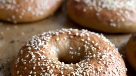 Bagels Wallpaper For IPhone Free