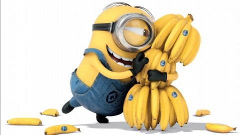 Banana Minion wallpapers high quality