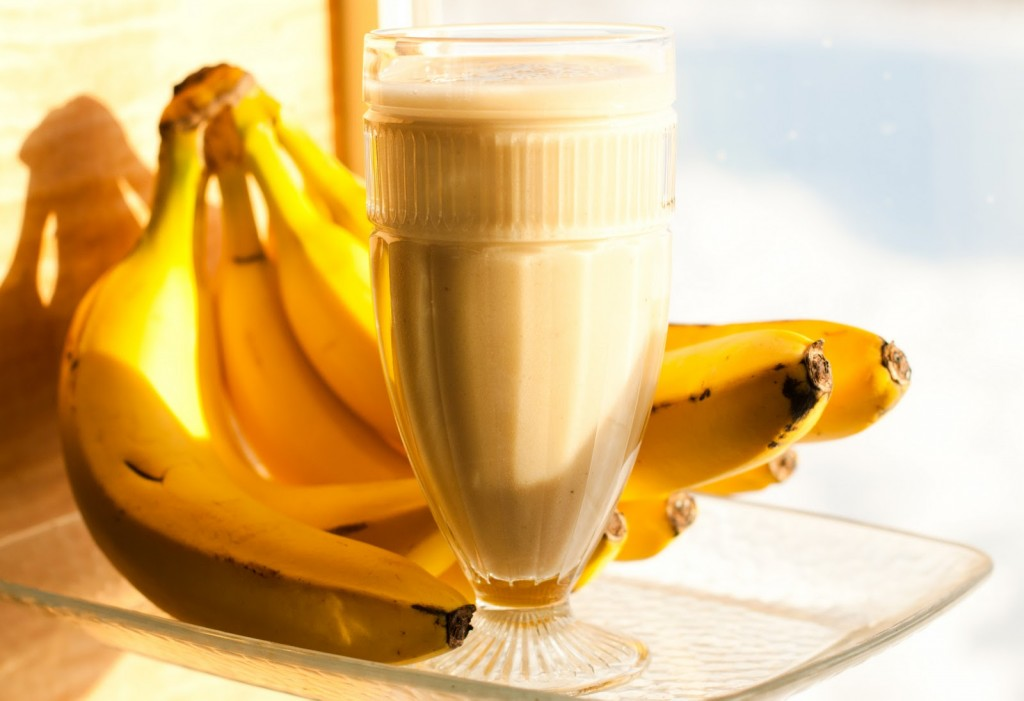 Banana Smoothie Wallpapers High Quality Download Free