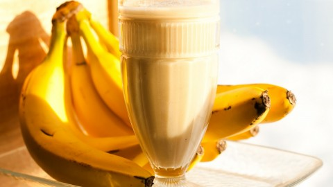 Banana Smoothie wallpapers high quality