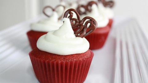 Cupcake Red Velvet wallpapers high quality