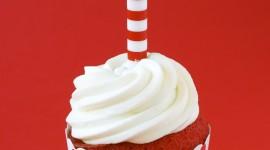 Cupcake Red Velvet Wallpaper For Android#2
