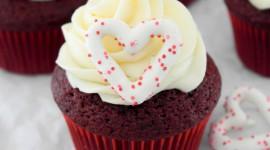 Cupcake Red Velvet Wallpaper For IPhone#1