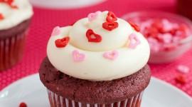 Cupcake Red Velvet Wallpaper For Mobile#2