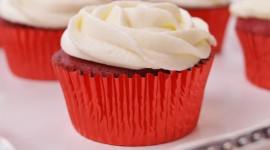 Cupcake Red Velvet Wallpaper For PC