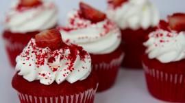 Cupcake Red Velvet Wallpaper Free