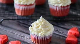 Cupcake Red Velvet Wallpaper HQ