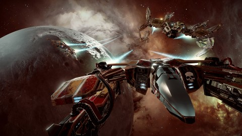 Eve Valkyrie Warzone wallpapers high quality