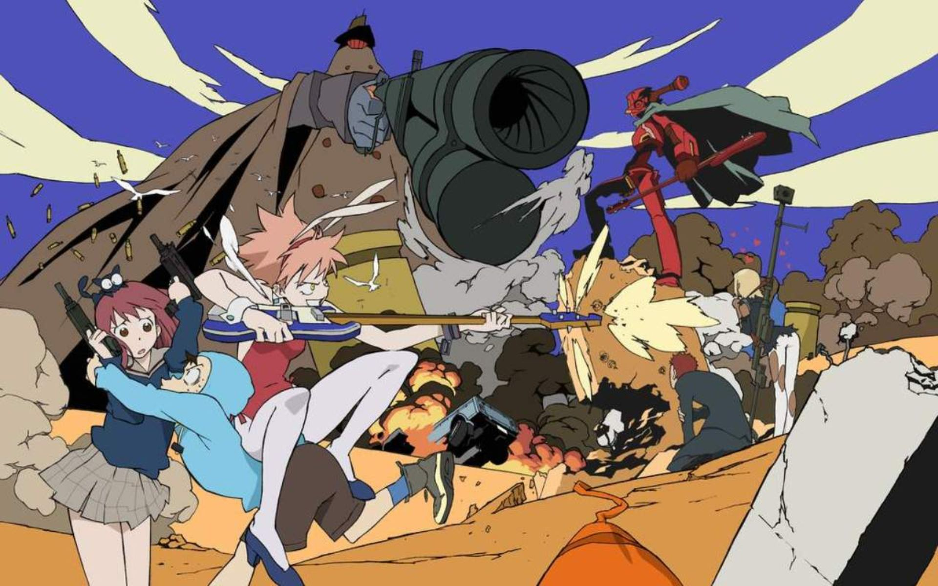 flcl wallpapers high quality download free