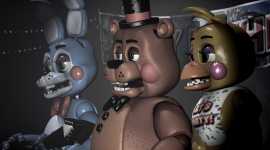 Freddy Fazbear's Pizzeria Simulator Wallpaper