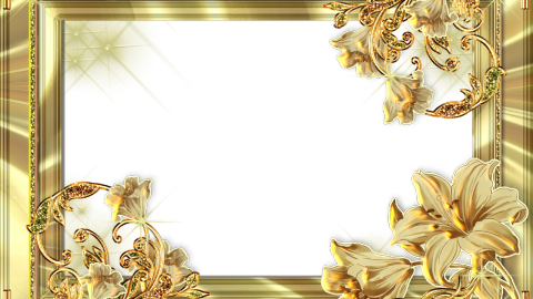 Gold Frame wallpapers high quality