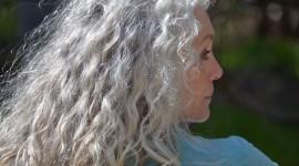 Gray Hair Wallpaper Full HD